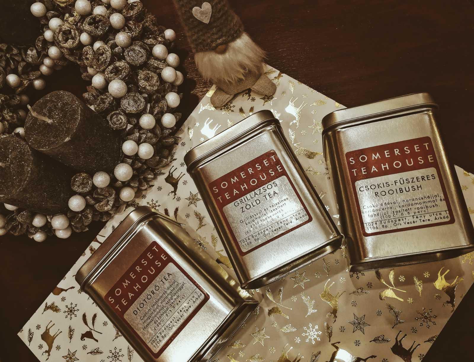 Karácsonyi tea ajándékok