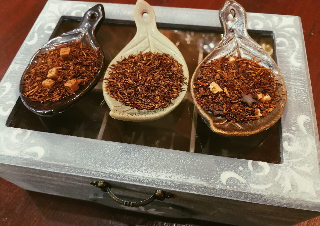Rooibush: vaníliás, citromkrémes és natúr