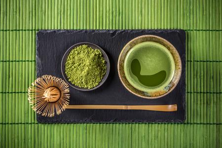 Japán teaszertartás, Matcha zöld tea