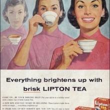 Lipton - Szatócssegédből tea király Korabeli Lipton tea reklám