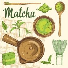 Matcha zöld tea