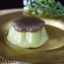 Matcha elvitelreMatcha zöld tea puding