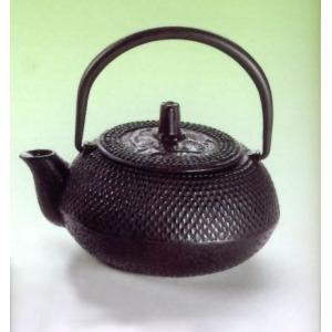 Fekete fém teáskanna 0,3 l