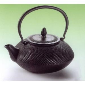 Fekete fém teáskanna 1,2 l