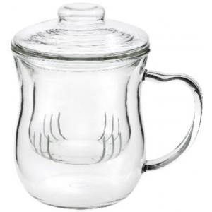 Julia, üveg szűrős pohár