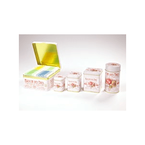 Maison kerek 100 gr teásdoboz Ø 6,6 x 12,5 cm (A képen a jobb szélső doboz)