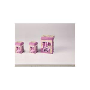 Levendula 100 gr teásdoboz 7,5 x 7,5 x 9,5 cm (A képen a jobb oldali doboz)