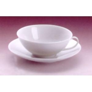 Porcelán teáscsésze alátéttel, csésze űrtartalma 150 ml