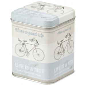 Bicikli 100 gr fém teadoboz
