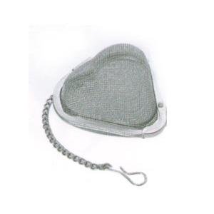 Szív alakú, hálós teatojás