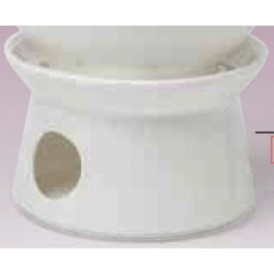 Porcelán melegítő fehér, teakannához