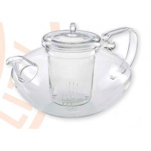 Szűrős üveg teáskanna 1,2l Yao