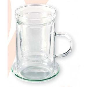 Szűrős üvegpohár